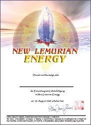 Zertifikat - New Lemurian Energy
