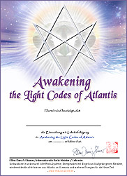 Zertifikat - Awakening the Light Codes of Atlantis