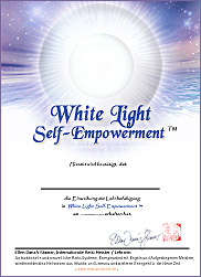 Zertifikat - White Light Self-Empowerment